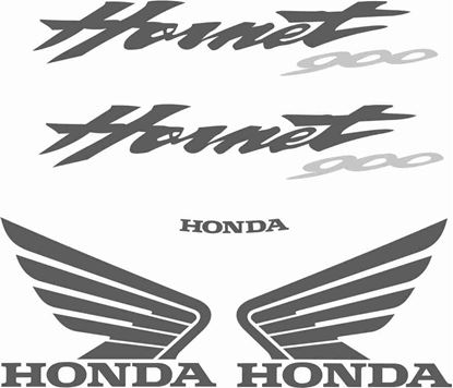 Picture of Honda Hornet CB900  replacement Decals / Stickers