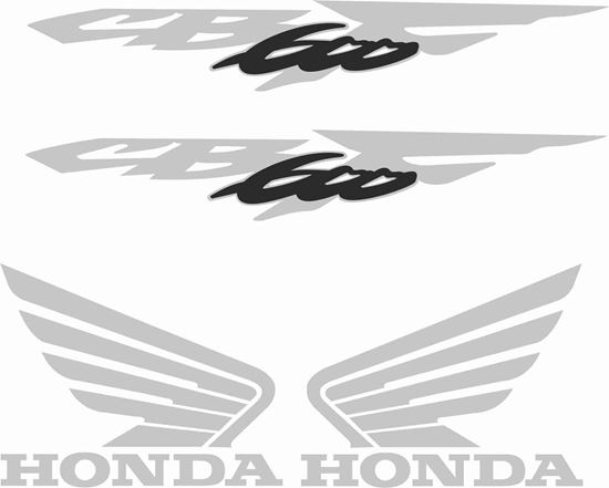 Picture of Honda Hornet CB 600F 2000  - 2002  replacement Decals / Stickers