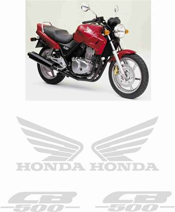 Picture of Honda CB500 2000 - 2005 replacement Decals / Stickers