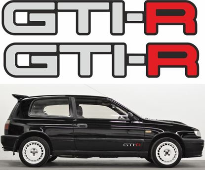 "Picture of Nissan Pulsar / Sunny ""GTI-R"" Decals / Stickers"
