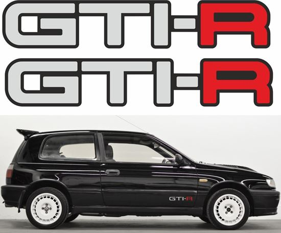 """Picture of Nissan Pulsar / Sunny """"GTI-R"""" Decals / Stickers"""