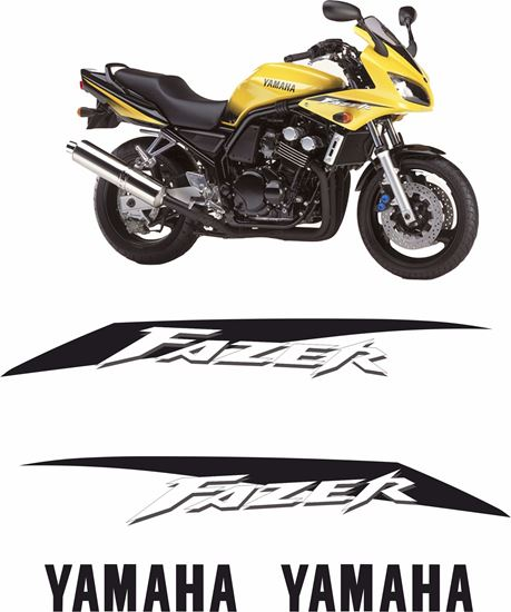 Picture of Yamaha Fazer FZS 600 2002 - 2003 Replacement Decals / Stickers