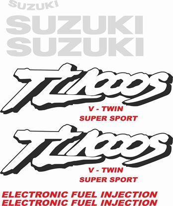Picture of Suzuki TLS 1000S 1997 - 2003 Replacement Decals / Stickers