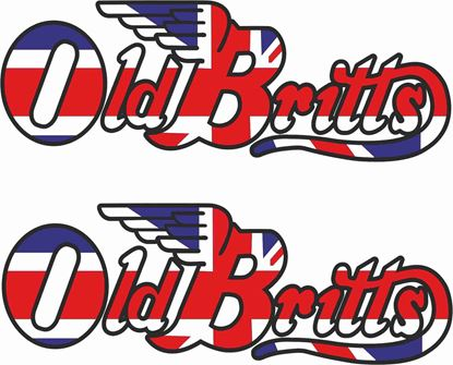 "Picture of ""Old Britts"" restoration Decals / Stickers"
