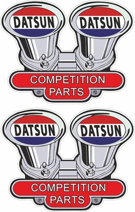 Picture of Datsun Competition parts Decals / Stickers