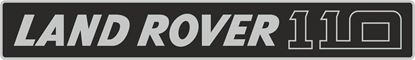 Picture of Land Rover Defender 110 replacement Grill Decal / Sticker