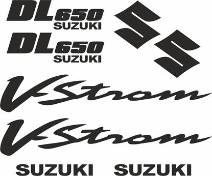 Picture of Suzuki DL 650 V-Strom Decals / Stickers kit