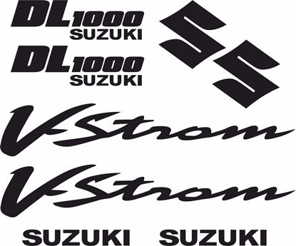 Picture of Suzuki DL 1000 V-Strom Decals / Stickers kit