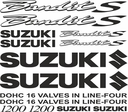 Picture of Suzuki  Bandit 1200S  Decals / Stickers  kit
