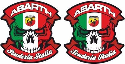 Picture of Fiat Abarth Scuderia Italia Decals / Stickers