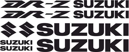 Picture of Suzuki DR-Z Decals / Stickers kit