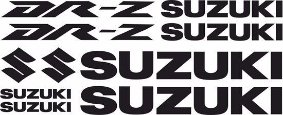 Picture of Suzuki DR-Z Decals / Stickers kit