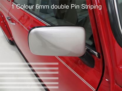 Picture of Classic Mini restoration Pin Stripes (Double stripe)