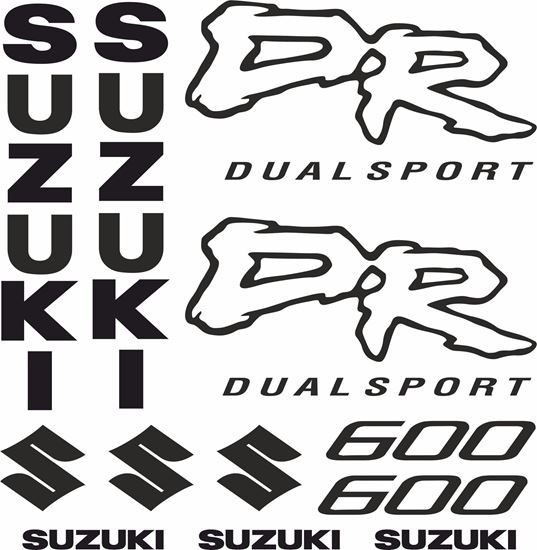 Picture of Suzuki DR600 Decals / Stickers kit