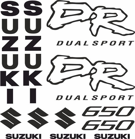 Picture of Suzuki DR650 Decals / Stickers kit