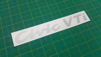 Picture of Honda Civic VTi EG6 / EG8  Replacement rear hatch Decal / Sticker