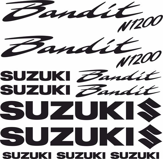 Picture of Suzuki  Bandit N1200  Decals / Stickers  kit