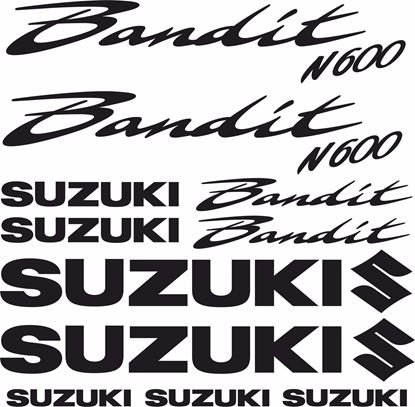 Picture of Suzuki  Bandit N600  Decals / Stickers  kit
