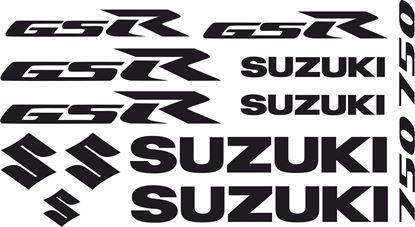 Picture of Suzuki GSR 750 2011 - 2012 Decals / Sticker kit