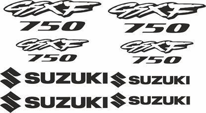 Picture of Suzuki GSXF 750 Decals / Stickers kit