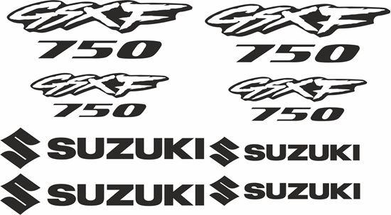 Picture of Suzuki GSXF 750 Decals / Stickers kit