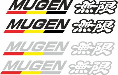 "Picture of Honda ""Mugen"" Decals / Stickers"