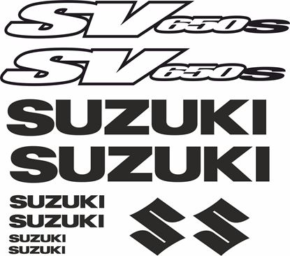 Picture of Suzuki SV 650S Decals / Stickers kit