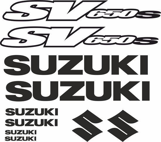 Picture of Suzuki SV 650S Decals / Stickers kit
