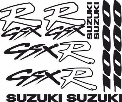 Picture of Suzuki GSX-R 1000 1992 - 1996 Decals / Stickers kit