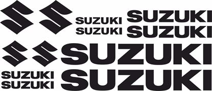Picture of Suzuki fairing / Tank / Plastics  General Decals / Stickers kit