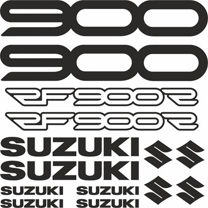 Picture of Suzuki RF900R 1995 - 1999 Decals / Stickers kit