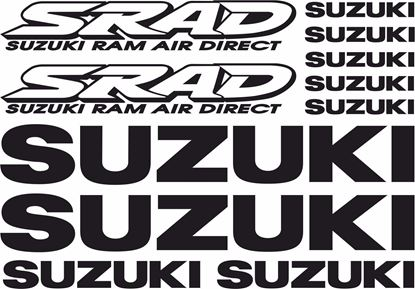 Picture of Suzuki GSX-R Srad Decals / Stickers kit