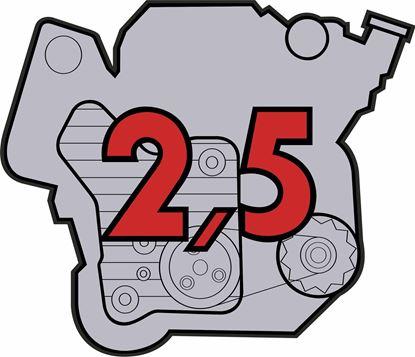 "Picture of Porsche 911 ""2,5"" Engine general panel Decals /  Stickers"