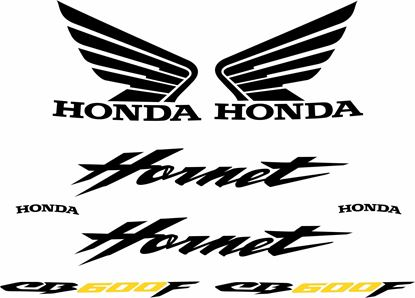 Picture of Honda Hornet CB600  F replacement Decals / Stickers