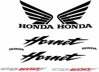 Picture of Honda Hornet CB600F  replacement Decals / Stickers