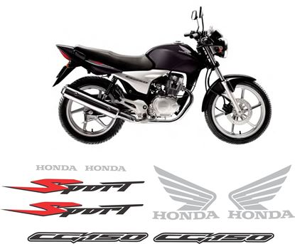 Picture of Honda CG150 SPORT 2005 - 2008  replacement Decals / Stickers