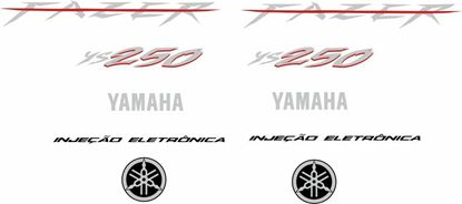 Picture of Yamaha Fazer YS250 2008 - 2009 Replacement Decals /Stickers