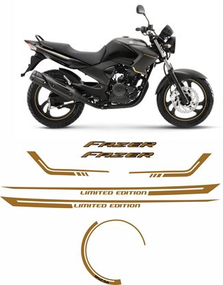 Picture of Yamaha Fazer YS250 Limited Edition 2008 - 2009 Replacement Decals /Stickers