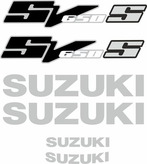 Picture of Suzuki SV 650S 2004 Replacement Decals / Stickers