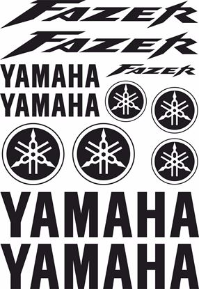 Picture of Yamaha Fazer 2003 - 2005 Decals / Sticker kit