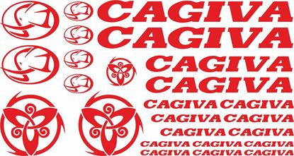 Picture of Cagiva Decals / Sticker kit