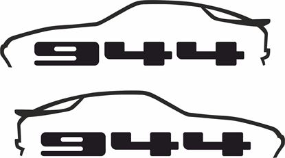 Picture of Porsche  944  decals / stickers