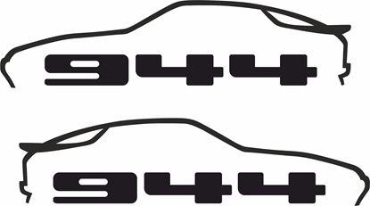 Picture of Porsche  944  decals / stickers