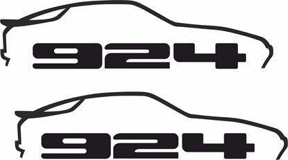 Picture of Porsche  924 decals /stickers