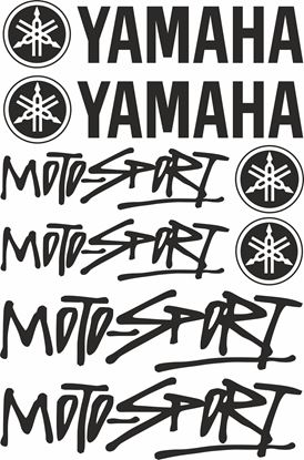 Picture of Yamaha / Motorsport  Decals / Sticker kit