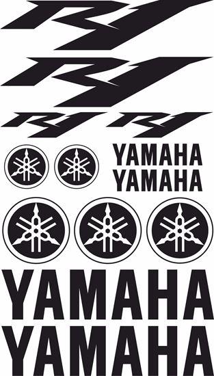 Zen Graphics Yamaha R1 2009 2012 Decals Sticker Kit