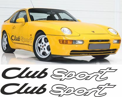 Picture of Porsche 968 / 944 Club sport side  / Stickers