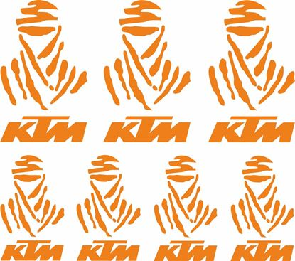 Picture of KTM Dakar  Decals / Stickers Kit