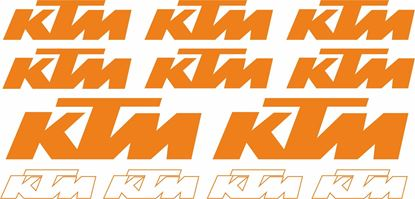 Picture of KTM Decals / Stickers