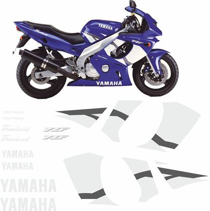 Picture of Yamaha YZF 600R 2002 - 2003 Replacement Decals / Stickers
